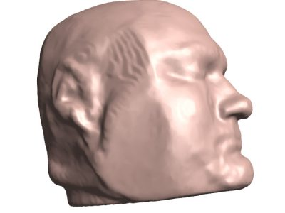 3D PDF - Showing Face